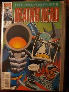 The Incomplete Death's Head #10 of 12 Rare Oct 1992 Marvel Uk + Death's Head 2