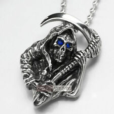 Crystal Pendant Chains & Necklaces for Men
