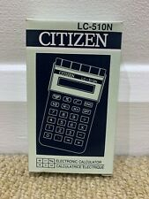 Citizen Lc51-0n Pocket Calculator 8 Digit.