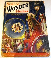 Science Wonder Stories - US pulp - March 1930 - Vol.1 No.10 - Harl Vincent