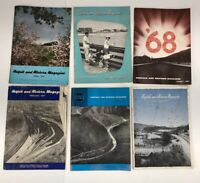 N&W 1950's  Norfolk & Western Railroad Magazine Lot of 6 Trains READ
