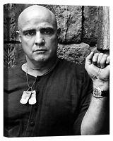 quadro Brando Marlon Stampa su tela Canvas effetto dipinto