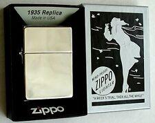Original ZIPPO Feuerzeug 1935 Replica  high polished 2002580 Neu & OVP