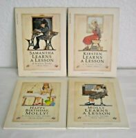 Lot of 4 - American Girl Learns a Lesson Molly Samantha Kirsten Happy Birthday