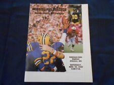Mississippi College vs Delta State University Football Gameday Program 1990