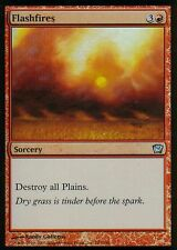 Flashfires foil | ex | 9th | Magic mtg