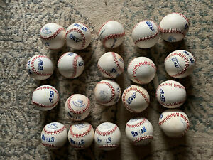 20 Used AD Starr5-CYS  Series Baseballs 9in 5 Oz