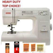 Janome HD3000 Heavy Duty Sewing Machine Model with 5 Piece Bonus Kit New