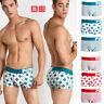 2019 Pink Hero Men's Underwear Comfortable Underpants Boxer Cotton Shorts Brief