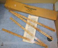 Vintage Wooden PANTOGRAPH No. 1292 Enlarger/Reducer Drafting/Drawing J0541