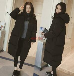 Chic Women/Lady Parka Oversized Long Hooded Jacket Loose Puffer Winter Coats New