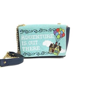 Disney Lounge Fly Adventure Is Out There Women's Blue Shoulder Purse