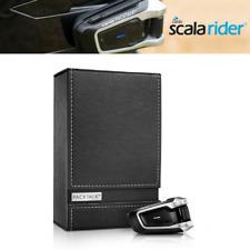 Cardo Scala Rider Packtalk Pack Talk Solo Motorcycle Bluetooth Intercom Mesh