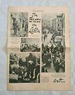 Mega rare antisemitism 1940 Berlinger newspaper Litzmannstadt