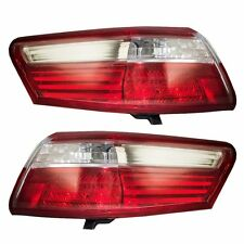 2007 2008 2009 TOYOTA CAMRY REAR TAIL LAMP LIGHT NON-HYBRID LEFT AND RIGHT PAIR