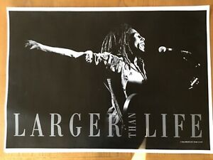 """4 Neal Preston """"LARGER THAN LIFE"""" Posters, Madonna, Jackson, Marley, and Bowie"""