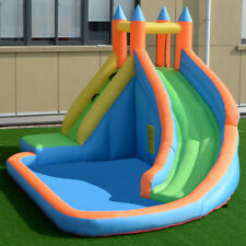 Inflatable Water Slide Pool Bounce Bouncy House Jump Jumper Castle Climbing Wall