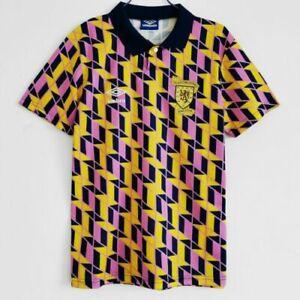 Retro Scotland Jersey 1988/89 3rd Away Shirt