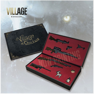 Resident Evil Biohazard Village Equipment Miniatures&Art Book Village of Shadows