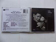CD ALBUM BILLIE HOLIDAY Billie 's blues CDP 7 48786 2