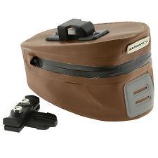 Dawes Bike Saddle Seat Wedge Bag Quick Release 100% Waterproof Heritage Brown