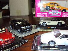 4 X 1:43 BMW CARS THRU THE YEARS + BONUS MODEL 507 6 SERIES 635i M1 Z8 X6 SUV