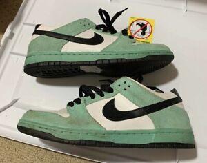 2016 Nike SB Dunk Low Sea Crystal 819674 301 Sz 8 ice green black white