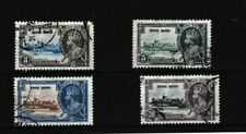 1935 HONG KONG SILVER JUBILEE FULL SET FOUR STAMPS FINE USED  67*
