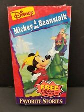 Walt Disney Mini Classics Mickey & The Beanstalk Favorite Stories Storybook VHS