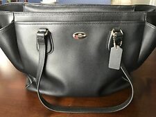 Coach crossgrain leather diaper bag