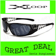 Men/'s X Loop Sunglasses XL52909 UV400 Davis I9 blue black sunnies womens running