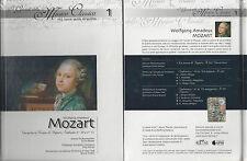 cd+libro guida all'ascolto I Grandi della Musica Classica - vita opere MOZART