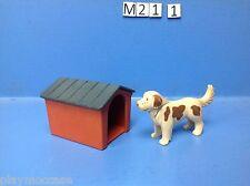 (M21.1) playmobil grand chien et sa niche