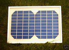 NEW 12V 5WATT FRAMED SOLAR PANEL WITH 5M CABLE AND DIODE FOR 12V BATTERIES