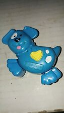 1996 Fisher Price Blue Dog Toy Makes Noice when Legs Moved