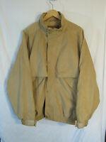 Outback Trading Men's Rambler Jacket Size XL Tan 2319 microsuede NWOT unworn!