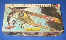 Vintage Revell Nieuport 17 1/72 Scale Model Kit