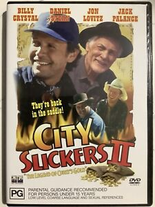 CITY SLICKERS 2 - DVD Region 4 - Billy Crystal LIKE NEW CONDITION