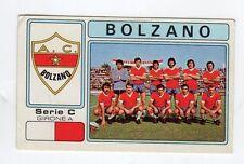 figurina - CALCIATORI PANINI 1976/77 NEW - NUMERO 535 BOLZANO SQUADRA