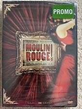 Moulin Rouge (Dvd, 2002) Promo Copy Bonus Features Widescreen Brand New