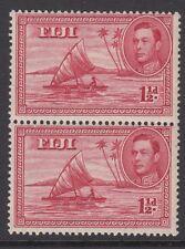 FIJI: 1940 1 1/2d die II perf 13 1/2 SG 252  MNH pair