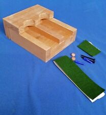 2 gun - wood closet gun rack with floor rest - Solid Oak