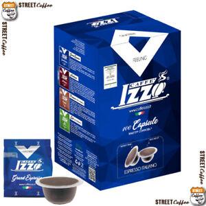 300 Cialde Capsule Caffè Izzo Blu Grand Espresso compatibile Bialetti