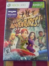 Kinect Adventures (Microsoft Xbox 360 Game) NEW Sealed