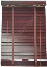 Timber Venetian Blinds - 600mm Width x 2100mm Drop