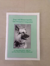 Dogs and Homeopathy The Owners Companion