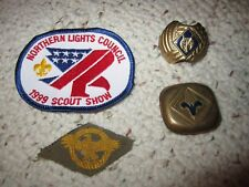 Older Boy Scout Scraf Clips and Patches!!!