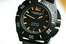 Schaumburg Watch Aquamatic Diver Automatic 1000 M BLACK TWO Lindburgh & Benson