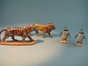 QUIRALU ET WEND-AL  - CIRQUE -  LION -TIGRE ET 2 MANCHOTS