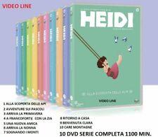 Dvd Heidi - Serie Completa Vol.1-10 (10 DVD) .....NUOVO